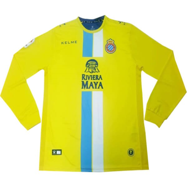 Camiseta Español Replica Tercera ML 2018/2019 Amarillo